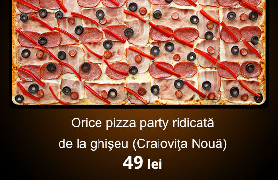 imagine pizza party homepage